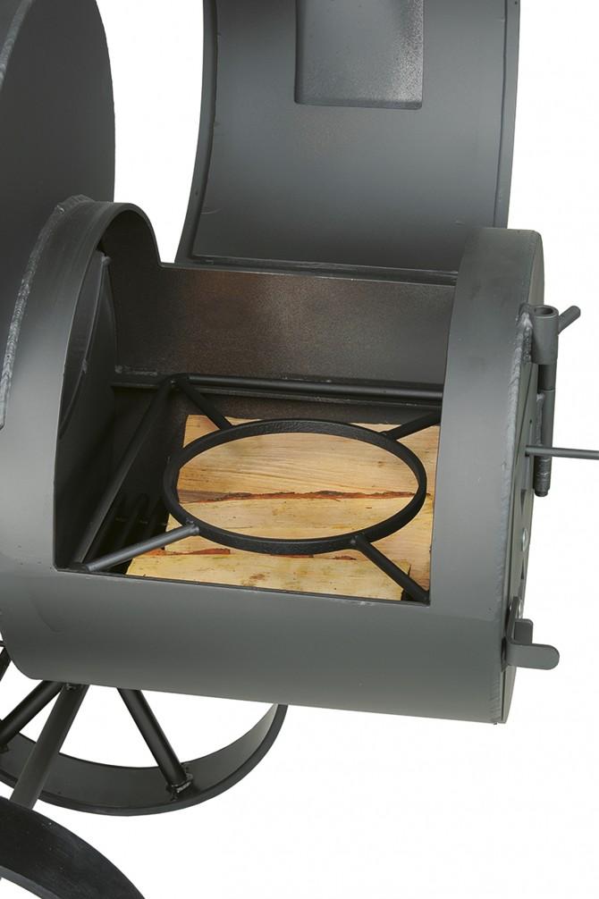 Umístění wok držáku